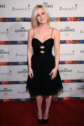 Country singer Kelly Picker wore a cut-out spaghetti strap David Meister dress.